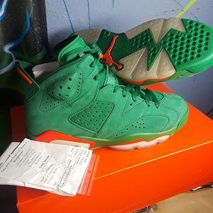 72736a3770a5 Jordan 6 retro Gatorade greens